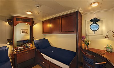 This could be your cabin on board the clipper